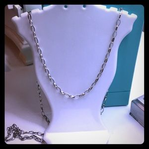 "Jewelry - 30"" sterling silver chain"